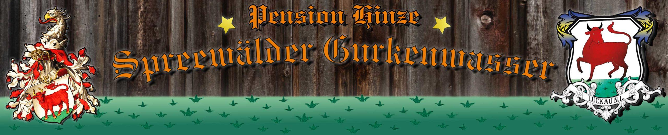 Pension Spreewälder Gurkenwasser